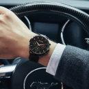 쥴리어스  JAH-107 남성시계 손목시계 가죽밴드